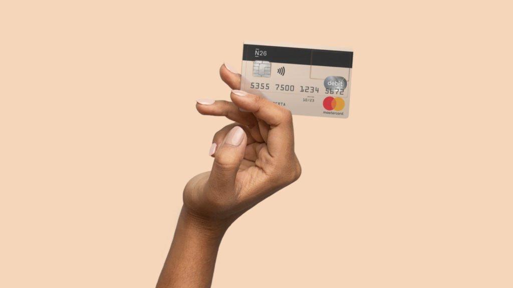 Η N26 αποστέλλει εντελώς δωρεάν μια mastercard στο σπίτι σου!