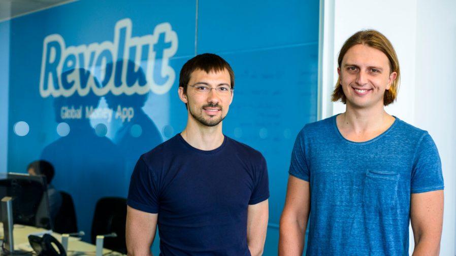 Ο Nikolay Storonsky (νυν CEO) και ο Vlad Yatsenko (νυν CTO).