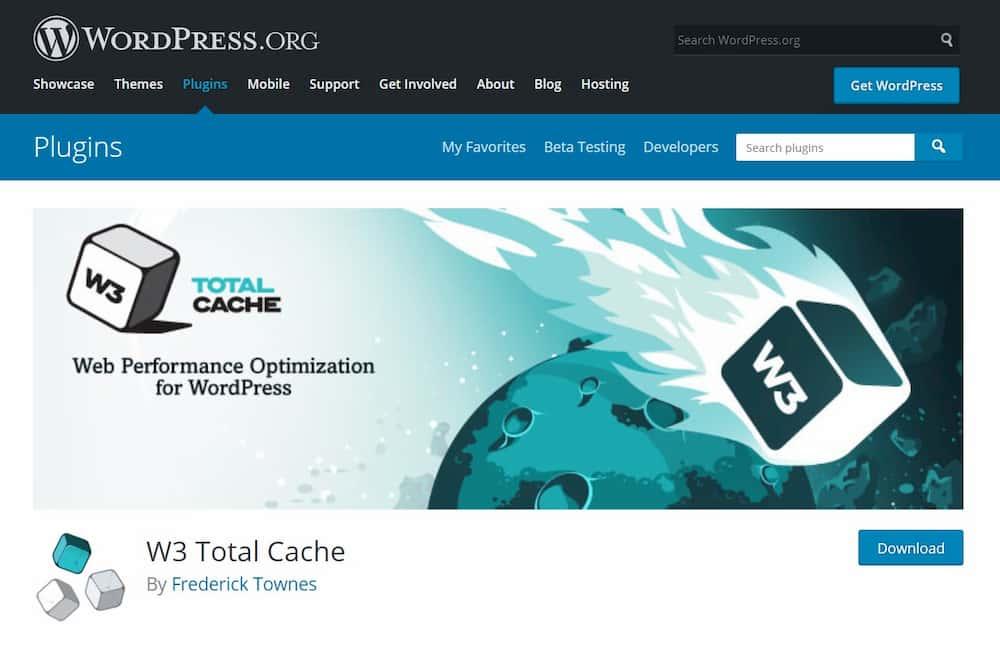 Απαραίτητα Plugins για Blog σε WordPress - W3 Total Cache