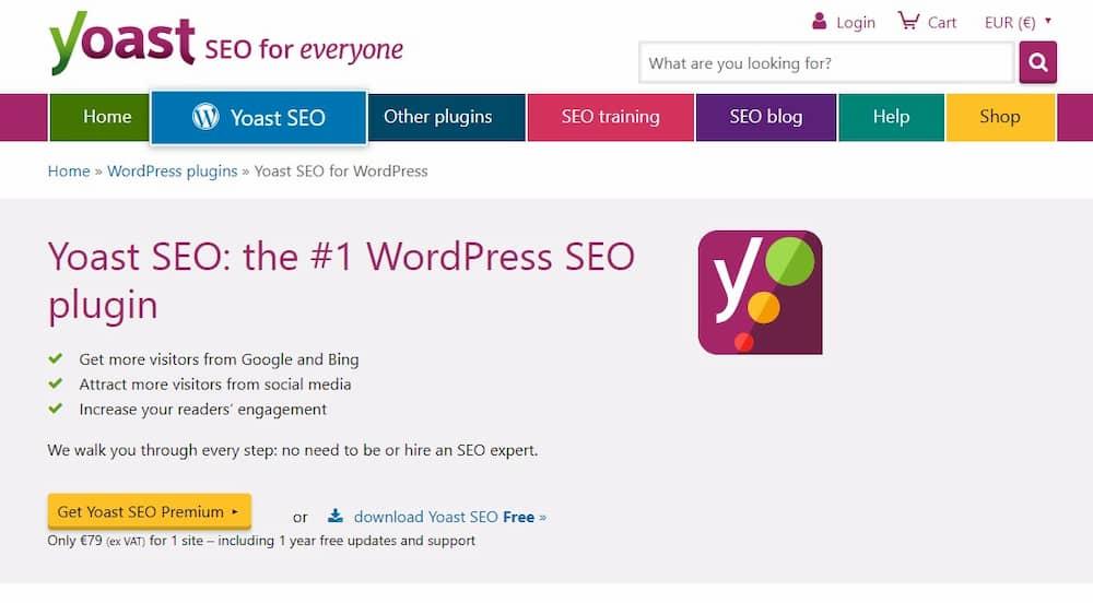 Απαραίτητα Plugins για Blog σε WordPress - Yoast Seo