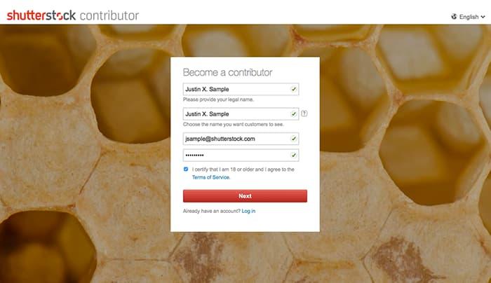 Δημιουργία Shutterstock Contributor λογαριασμού για πώληση φωτογραφιών online - Βασικά Στοιχεία