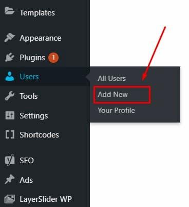 Σύνδεση στο WordPress για πρώτη φορά- Προσθήκη Νέου Χρήστη