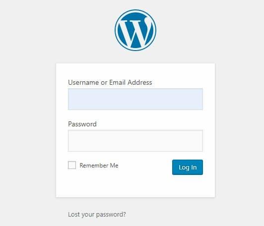 Σύνδεση στο WordPress για πρώτη φορά - Απευθείας Σύνδεση στο WordPress