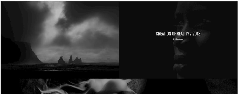 Photographer Portfolio Bridge Photography Theme