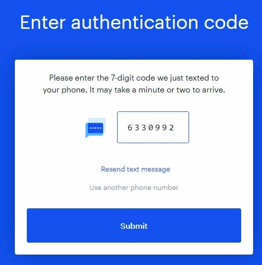 Δημιουργία Λογαριασμού στο Coinbase - Επιβεβαίωση Κωδικού μέσω Κινητού Τηλεφώνου