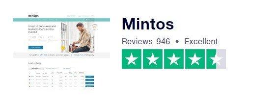 Excellent Κριτική της Mintos στο Trust Pilot