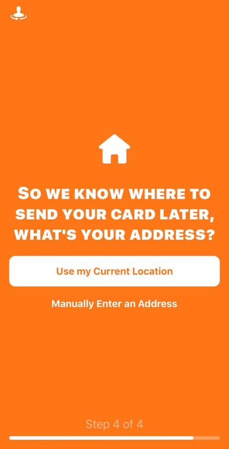 Αποστολή bunq κάρτας στο σπίτι σου