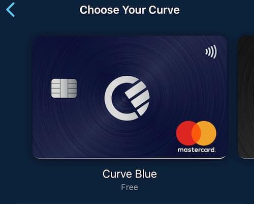 Βασικό Δωρεάν Blue Plan της Curve