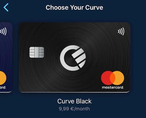 Premium Black Plan της Curve