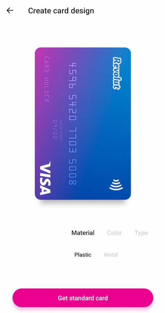 Επίλεξε το design της Revolut κάρτας σου