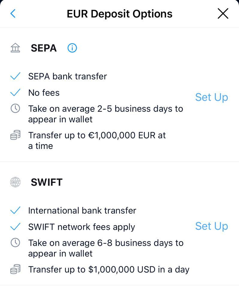 Μεταφορά Χρημάτων μέσω SEPA ή Swift