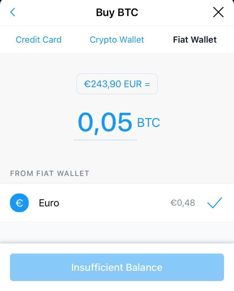 Αγορά Bitcoin μέσω crypto.com