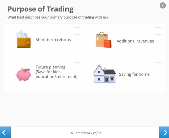 Σκοπός Επενδύσεων - Δημιουργία Λογαριασμου eToro