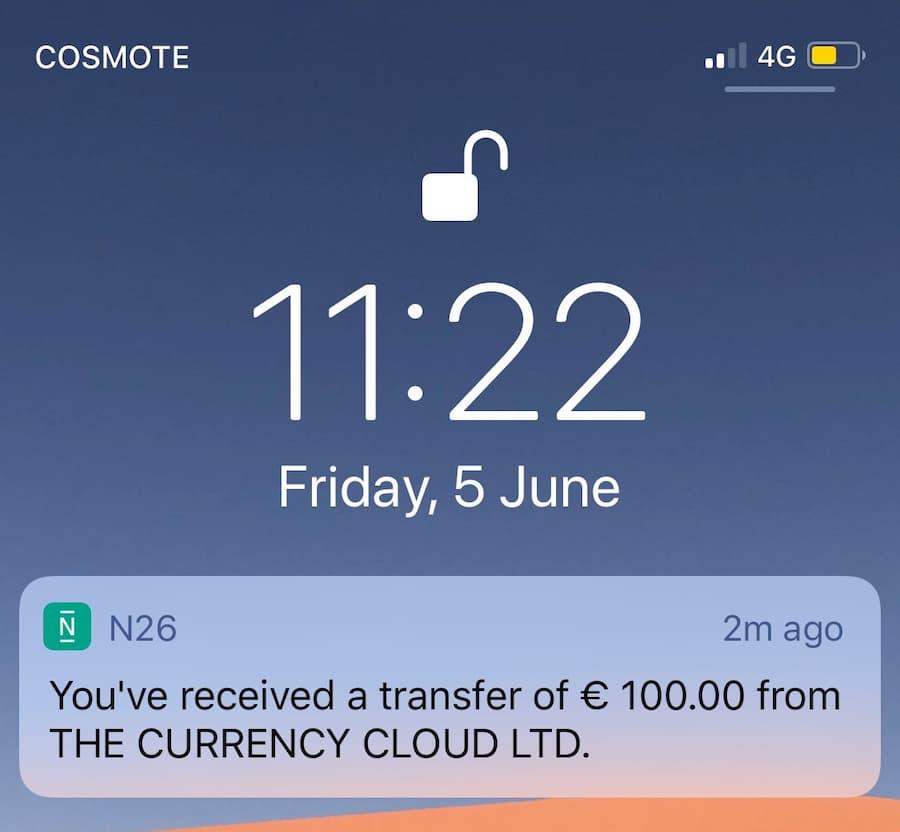 Λήψη Χρημάτων από το Crypto.com