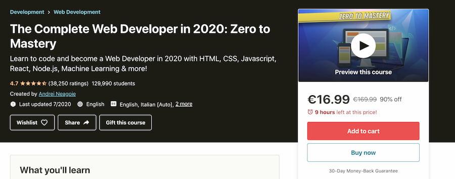Πως να μάθεις Web Development Online