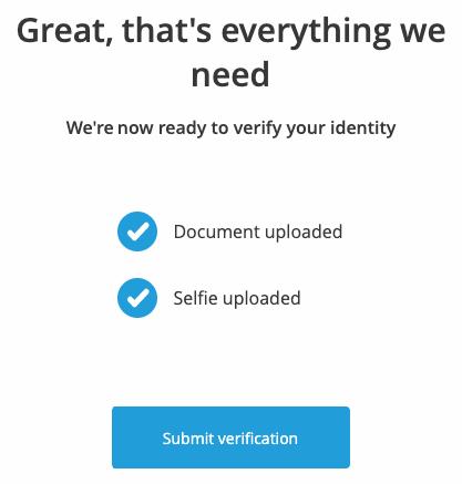 Ολοκλήρωση Account Verification Trading212