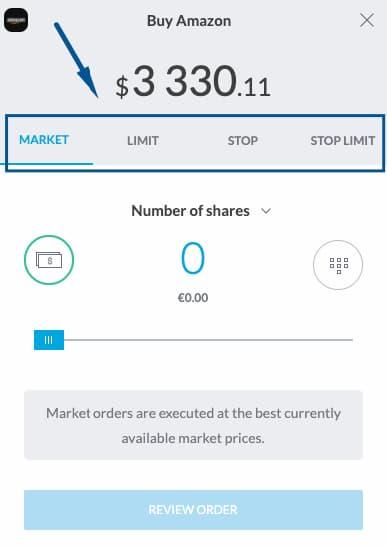 Εντολές Αγοράς Μετοχών Trading212
