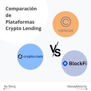 Celsius.Network, BlockFi & Crypto.com: Comparación Crypto Lending [2021]