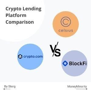 Celsius.Network, BlockFi & Crypto.com: Crypto Lending Comparison [2021]